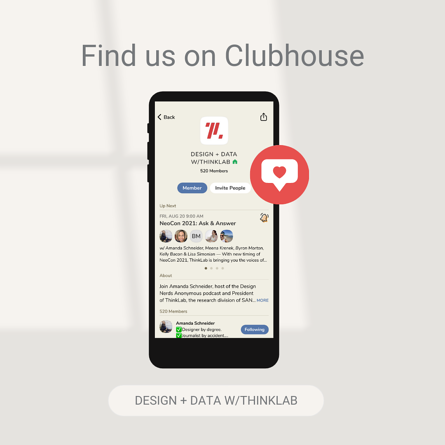 Find ThinkLab on Clubhouse